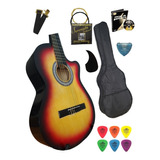 Guitarra Acustica Con Resaque Super Pack