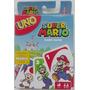 Uno Super Mario Edition $265 Pesos - Nuevo - Mikegames