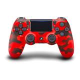 Control Joystick Sony Dualshock 4 Red Camouflage