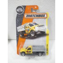 Matchbox Camioneta Ford F-350 Amarillo 51/125