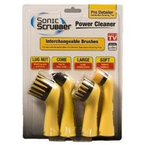 Sonicscrubber Bpd4 Prodetailer Cepillo De Limpieza 4-pack