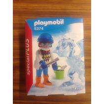 Playmobil 5374 Special Plus Artista Del Hielo Nuevo