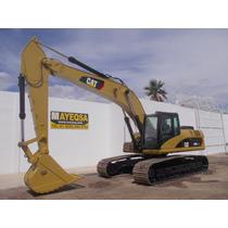 Excavadora Caterpillar 325d Komatsu Case John Deere