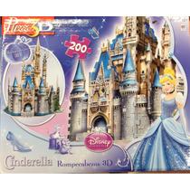 Rompecabezas Castillo Cenicienta Puzz 3d Disney Envío Gratis