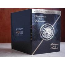 Album Para Monedas De 5 Pesos Conmemorativas