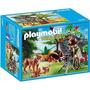 Playmobil 5561 Familia D Linces Y Camarografo Zoo Retromex