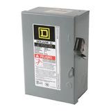 Caja Metálica Para Fusibles 2x30 Amp De Cuchillas Square D