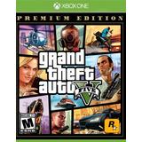 Gta Grand Theft Auto V Premium Edit Xbox One En Start Games