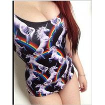 Unicornio Monokini Traje De Baño Completos Enviogratis S-xl