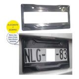 Portaplaca Ancho Personalizable 1par. 31x16 Plastico