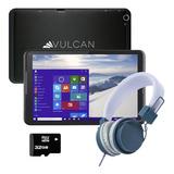 Tablet Vulcan Challenger Ii Ex 32gb 2gb Ram + Kit - Negro