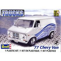 Chevy Van 1977 Revell Escala 1/24 Nuevo Caja Sellada