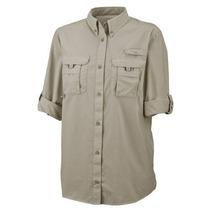 Camisa De Pesca De Mujer Columbia Omni Shade Upf+30 Talla Xl