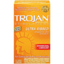 12 (doce) Condones Trojan Ultra Stimulations Ribbed