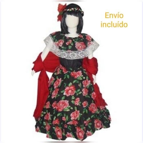 Disfraz Vestido Chiapasniñaenvío Incluído En Venta En