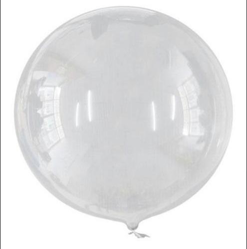 Globos Burbuja Pvc 24 /60 Cm Transparente 25 Piezas