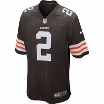 Jersey Nike Nfl Cleveland Browns De Johnny Manziel Juvenil