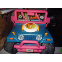 Jeep Power Wheels Barbie Playa 12v Incluye 3 Ritmos