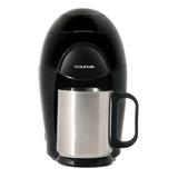 Cafetera Taurus Medea Negra/plata 110v