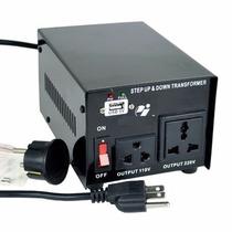 Convertidor De Voltaje Ac 110/220v Y 220v/110v 750watts +usb