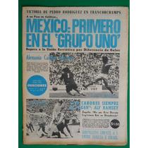 1970 Mundial De Futbol Mexico 4 Vs El Salvador 0 Periodico
