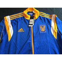 Cazadora Chamarra Tigres Uanl 2016 Adidas Azul Talla M