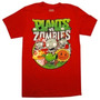 Playeras Plantas Vs Zombis