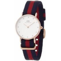 0905dw Oxford Acero Inoxidable Reloj Con La Venda De Nylon D