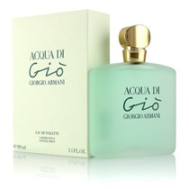 Perfume Acqua Di Gio De Giorgio Armani 100ml Dama Kuma