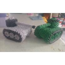 Tanque De Origami 3d 1194 Piezas