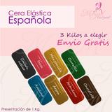 3 Kg Cera Española Envio Gratis