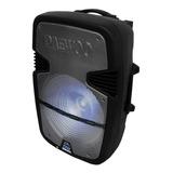 Bafles Amplificados Bocina Bluetooth 15 Pulgadas Recargable Audio Profesional Portatil Microfono Larga Duracion  Karaoke