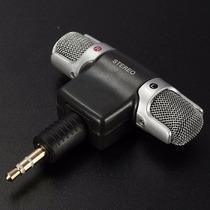 Micrófono Condensador Estereo Cámara Foto Video