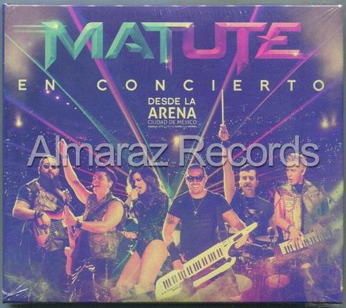 Matute En Concierto Desde La Arena Ciudad De Mexico 2cd+dvd