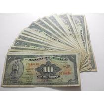 Mexico Un Billete 1000 Pesos Cuauhtemoc Condicion Usado