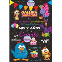 Busca Invitacion Gallina Pintadita Tipo Sabritas Imprimible