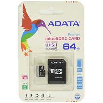 Memoria Micro Sd 64gb Clase 10 Uhs Sdxc Adata Ultra Rapida