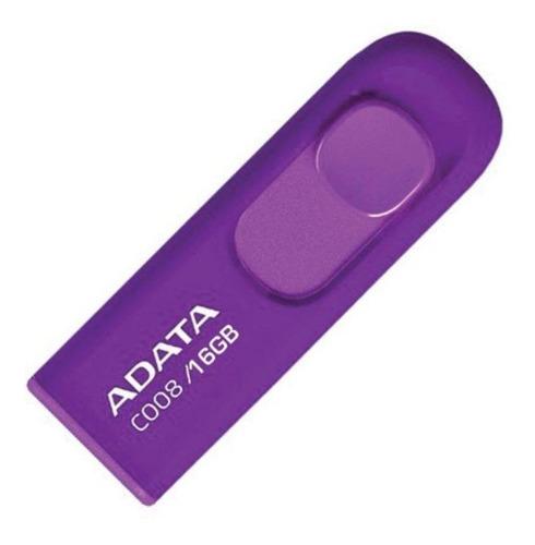 Memoria Usb Adata C008 16gb Violeta