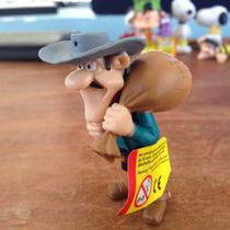 Figurilla Lucky Luke William Dalton 5 Cms Plástico
