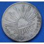 Moneda 8 Reales Culiacan 1878 J D Escasa Plata