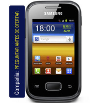 Samsung Galaxy Pocket Gt-s5301 Cám 2 Mpx Android Wifi Apps