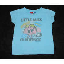 Baby Gap! Playerita Azul Little Miss Chatterbox, 2 Años