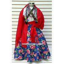 6000a3943 Falda Adelita Disfraz Blusa Revolucion Mex Niñas Vestido en venta en ...