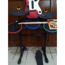 Bateria, Guitarra Y Microfono