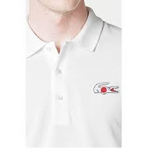 Player Polo Lacoste Original Blanca T/xgrande Japon