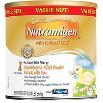 Nutramigen Con La Fórmula Enflora Lgg Bebé - 19.8 Polvo Pued