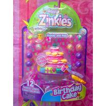 Squinkies Figuras Miniatura Pastel De Cumpleanos