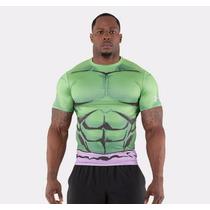 Playera De Lycra Under Armour Hulk 2016 Nuevo