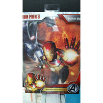 Funda Ipad Mini Portafolio Iron Man