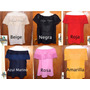 Paquete: 6 Blusas De Chiapas / Campesinas / Colores A Elegir